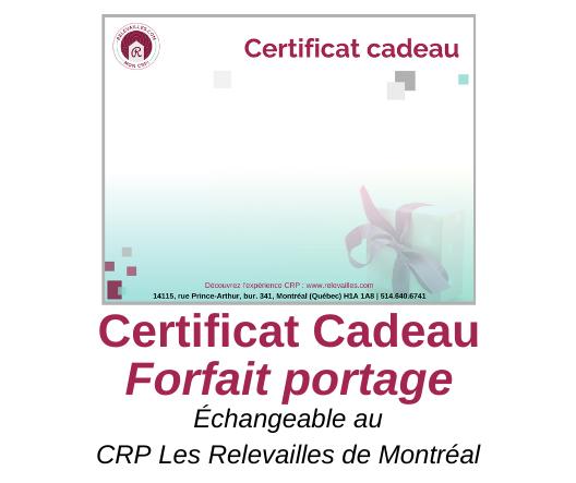 Certificat Cadeau Forfait portage – VISUEL web 20191206
