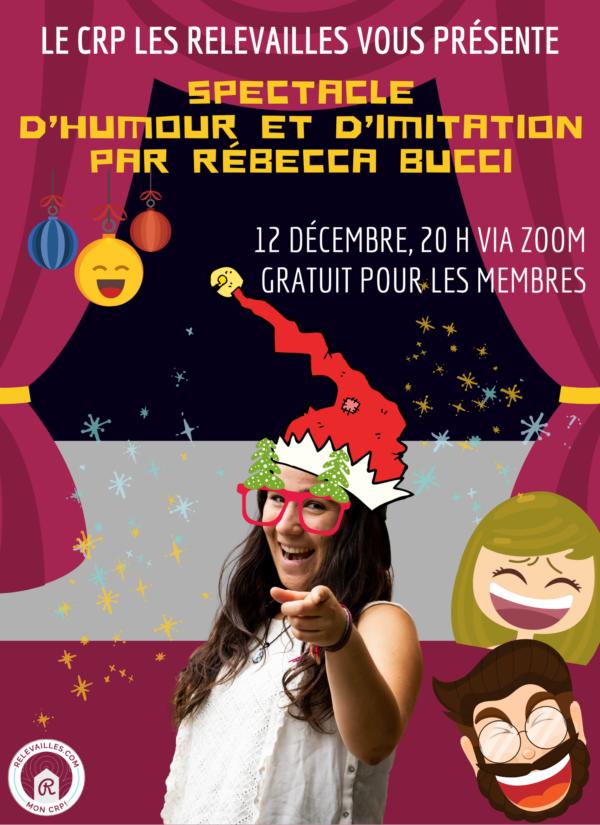 Billet non-membre Spectacle Noël 2020